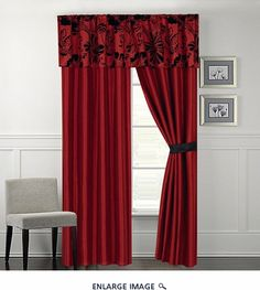 Superb + Images About Living Room On Pinterest Burgundy, Window Curtains . ...