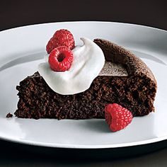Baked Chocolate Mousse | MyRecipes.com