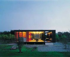 Minimalist Maintenance 20x20 House by Felipe Assadi | Home Architectural Design
