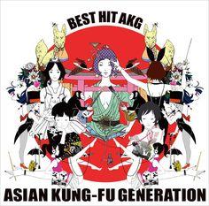CD cover artwork. Asian Kung-fu Generation