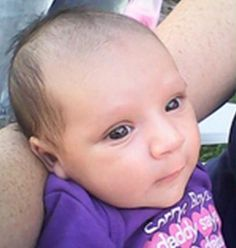 Rip 2 month old Laylah Garcia:  Her father has been arrested and charged with child abuse.