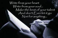 Write, Write, & Write