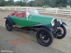 1924 Bugatti Type 23 Brescia Dual Cowl