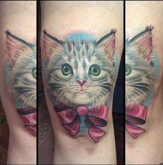 Cute Kitten Tattoo
