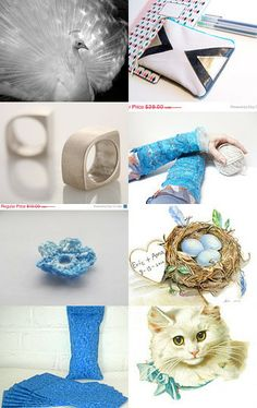 Blue Pops by Julia on Etsy--Pinned with TreasuryPin.com