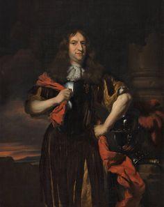 Nicolaes Maes, Portret van Maerten Nieupoort, circa 1672   Museum Boijmans Van Beuningen. Maerten Nieupoort is gekleed in een borstkuras en steunt op een helm die op de basis van een zuil staat. De zuil is een verwijzing naar de kracht en de sterkte, die aan Nieuwpoort toegeschreven worden. De krijgshaftige pose die de kapitein aanneemt, is eveneens een verwijzing naar zijn functie als militair. Het portret werd door Nicolaes Maes op het hoogtepunt van zijn creatieve vermogen geschilderd.