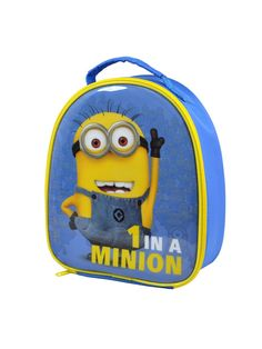 Buy Minions In A Minion' Shaped Lunchbag from our Kids Lunchbags & Dinner Sets range today from George at ASDA.