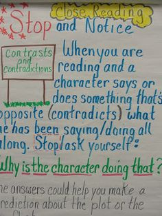 Notice and Note- Kylene Beers and Robert Propst- great resource for Close Reading- CCSS!!!