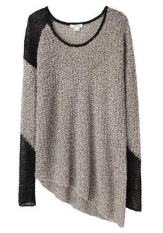 Helmut Lang / Flecked Bouclé Pullover- I just want to snuggle up in this sweater with a cup of coffee LOVE