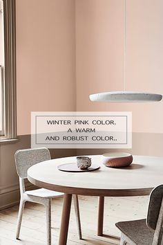 WINTER PINK COLOR. A WARM AND ROBUST COLOR.