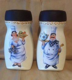 frascos de nescafe decorados con pintura