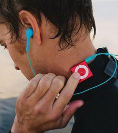 Waterfi 2GB iPod Shuffle (4th Gen) Waterproof Swim Set at SwimOutlet.com - The Web's most popular swim shop