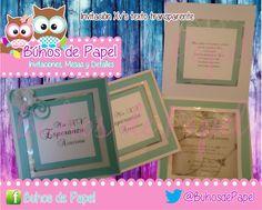Invitaciones XV's & Boda