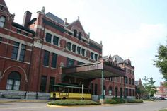 Union Station, Montgomery, Alabama, built in 1891 by the Louisville and Nashville Railroad.