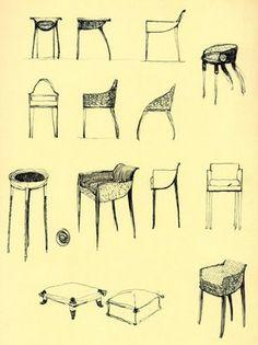 121 best design sketching chair sofa images arredamento chairs rh pinterest com