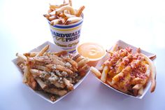 Boardwalk Fries are delicious!!! Try loaded fries or garlic fries for ...