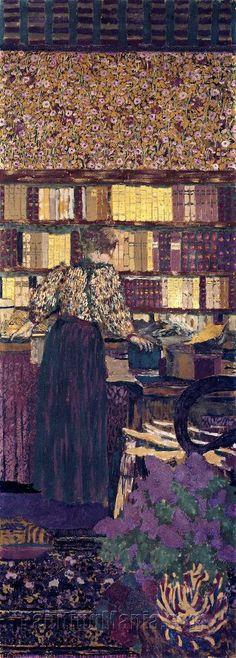Edouard Vuillard - Choisir un livre