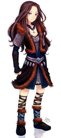 Female Thorin Oakenshield by ibahibut.deviantart.com on @deviantART