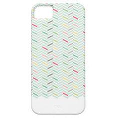 Herringbone Case Case For iPhone 5/5S