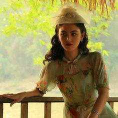 "Thai movie ""Plae Kao"" Riam, played by actress ""Mai"" Davika Hoorne (Saturday) Riam is herself in pre-existence."