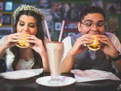 Noivos escolhem supermercado e lanchonete para fotos de casamento glo.bo/1Qlhnsa #G1 #casamento #noivos