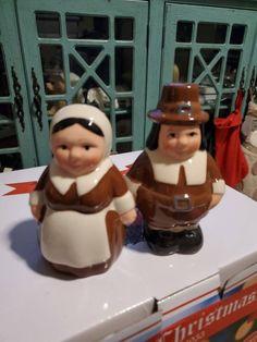 Cute pilgrim shakers