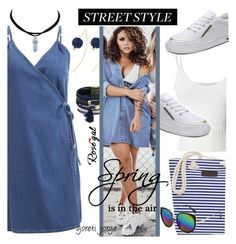"""""""Rosegal"""" Dress Denim Style"""""""" by goreti ❤ liked on Polyvore featuring StreetStyle, rosegal and Spring2017"""