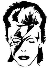 Resultado de imagen de david bowie logo