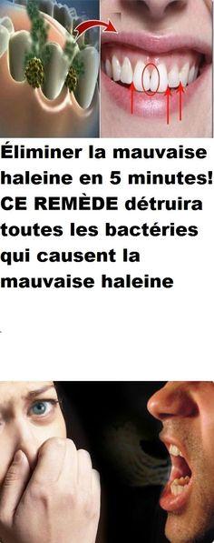 Éliminer la mauvaise haleine en 5 minutes! CE REMÈDE détruira toutes les bactéries qui causent la mauvaise haleine Minute, Self Care, Beauty Hacks, Beauty Tips, Learning, Glamour, Strong, Cavities, Health Remedies