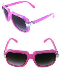 2634714c13 Details about Men s Women s Hip Hop 80 s Vintage 607 Sunglasses Retro RUN  DMC Pink Silver
