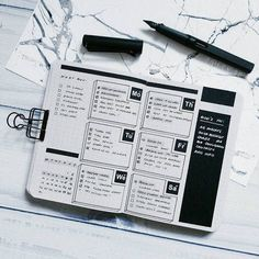 Bullet Journal Layout Ideas | Bullet Journal Inspiration