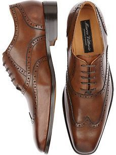 Marco Vittorio Brown Wingtip Shoes