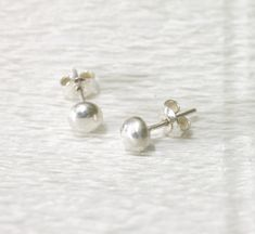 Earrings silver studs, minimalistic jewelry Gold Plated Earrings, Blue Earrings, Handmade Gifts For Her, Wire Wrapped Earrings, Christmas Gifts For Women, Birthstone Jewelry, Minimalist Jewelry, Sterling Silver Jewelry, Silver Jewellery