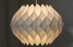 Pristine Midcentury Modern Modeline Honeycomb Pendant Light (California, U.S.A., 1950s) | Flickr - Photo Sharing!