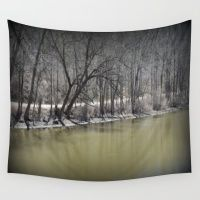 Early Spring in Wakefield Wall Tapestry