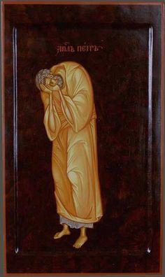MAXIM SHESHAKOV, Peter Weeping for His Denial icon