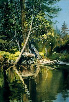 "Joe Cibere ""River View"""