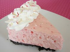 The Royal Cook: White Chocolate Peppermint Cheesecake