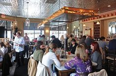 Stella's-- a fun atmosphere paired with delicious greek food located on Lafayette St. in Richmond