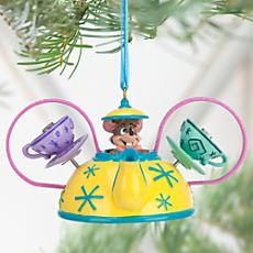 Dormouse Mad Tea Party Alice in Wonderland Ear Hat Ornament (as of 7/8/2015)