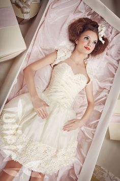 Tulipia Happy - Emmi Girls Dresses, Flower Girl Dresses, Wedding Dresses, Happy, Flowers, Fashion, Dresses Of Girls, Bride Dresses, Moda