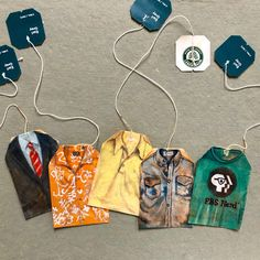 Ruby Silvious, Earl Grey Tea Shirts, watercolor on used tea bags Tea Bag Art, Tea Art, Used Tea Bags, Posca Art, Recycled Art, Coffee Art, Art Plastique, Art Sketchbook, Altered Art