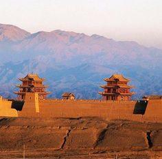 Jiayuguan Great Wall #travel #WindhorseTour