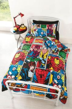 Marvel Comics Strike Duvet Set – Natalie's Gifts & Homewares