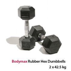 Bodymax Rubber Hex Dumbbells - 2 x 30kg: http://www.menshealthstore.co.uk/Bodymax-Rubber-Hex-Dumbbells-2-x-30kg/lid/10782