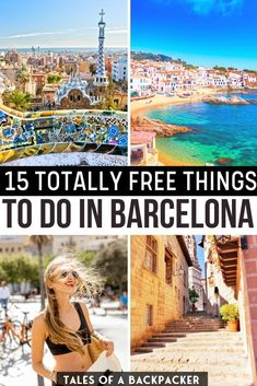15 Totally Free Things to do in Barcelona. it can be tough to travel on a budget but thankfully Barcelona has tons of free sights and activities! Here are 15 awesome but totally free things to do in Barcelona to rock your stay | What do in Barcelona on a budget | Barcelona for free | Free things in Barcelona | Cheap things to do in Barcelona | Barcelona on a budget | #barcelona #spain