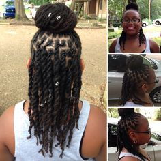 Kids with Locs... My baby at 2 1/2 years strong!