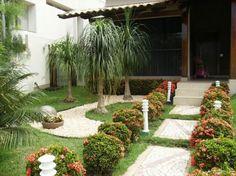 jardinagem para frente de casas - Pesquisa Google