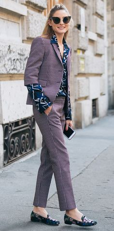 Olivia Palermo Owned Fashion Month—See 28 of Her Best Front Row-Ready Looks - MSGM from InStyle.com