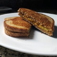 Breakfast of Champions - Grilled Peanut Butter and Banana...
